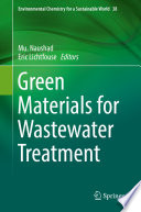 Green Materials for Wastewater Treatment Book