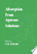 Adsorption From Aqueous Solutions