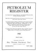 International Petroleum Register Book