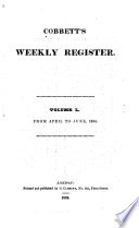 Cobbett's Weekly Register
