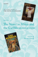 Pdf The Novel in Africa and the Caribbean since 1950