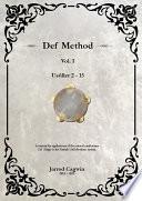 Def Method (Riqq Method), Volume I eBook, Jarrod Cagwin