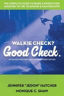 Walkie Check  Good Check Book PDF