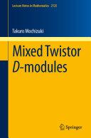 Mixed Twistor D-modules [Pdf/ePub] eBook