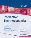 Fundamentals Of Engineering Thermodynamics Interactive Thermo User Guide Book PDF