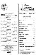 The Postal Transport Journal