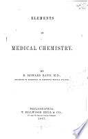 Elements of Medical Chemistry