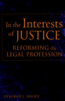 In the Interests of Justice ebook