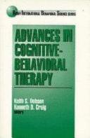 Advances in Cognitive Behavioral Therapy