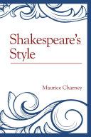 Shakespeare's Style
