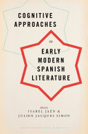 Cognitive Approaches to Early Modern Spanish Literature Pdf/ePub eBook