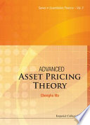 Advanced Asset Pricing Theory Book