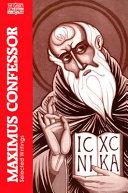 Maximus Confessor Pdf