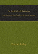 An English Irish Dictionary
