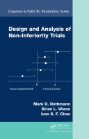 Design and Analysis of Non Inferiority Trials