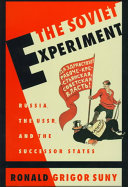 Cover of The Soviet Experiment