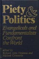 Piety and Politics Book