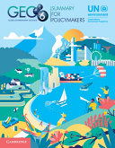 Global Environment Outlook   GEO 6  Summary for Policymakers