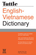 Tuttle English Vietnamese Dictionary
