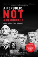 Republic  Not a Democracy