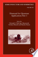 Diamond for Quantum Applications Part 1