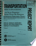 Long Island Expressway  I 495  and Seaford Oyster Bay Expressway  NY 135  Interchange Improvement Project Book