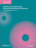 Books - New Designing And Developing A Professional Development Programme | ISBN 9781108440820
