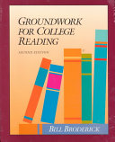 Groundwork for College Reading Book