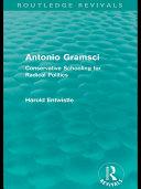 Antonio Gramsci (Routledge Revivals)