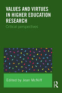 Values and Virtues in Higher Education Research