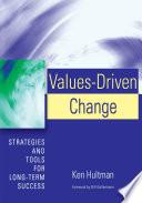 Values Driven Change