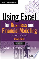 book cover: Using Excel for Business Analysis