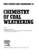 Chemistry Of Coal Weathering Book PDF