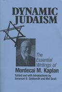 Dynamic Judaism