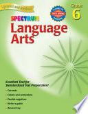 """Language Arts, Grade 6"" by Spectrum"