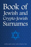 Book of Jewish and Crypto-Jewish Surnames