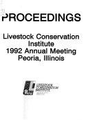 Proceedings     Annual Meeting