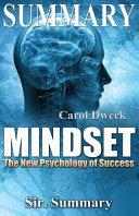 Summary   Mindset Book