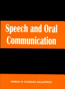 Speech   Oral Communication