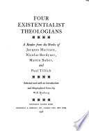 Four Existentialist Theologians
