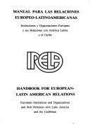 Handbook For European Latin American Relations