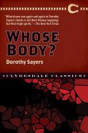 Whose Body? Pdf/ePub eBook