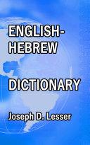 English / Hebrew Dictionary [Pdf/ePub] eBook