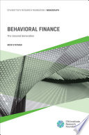 Behavioral Finance  The Second Generation
