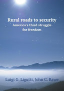 Rural roads to security