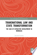 Transnational Law and State Transformation