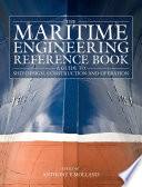 The Maritime Engineering Reference Book Book PDF