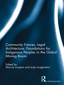 Community Futures  Legal Architecture