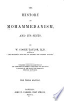 The History Of Mohammedanism And Its Sects