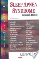 Sleep Apnea Syndrome Research Focus Book